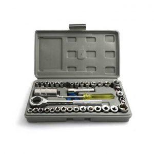 Aiwa 40 Pcs Socket Wrench Tool set – Big