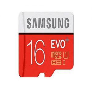 NOW 16Gb Evo Plus Micro Sdhc Memory Card – Red