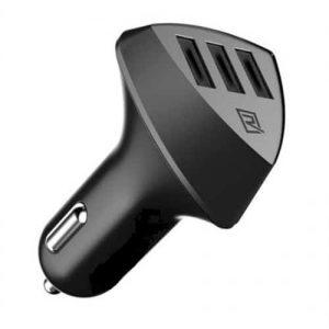 Aiens 3 lUsb Port Car Charger – Output 4.2A – Black
