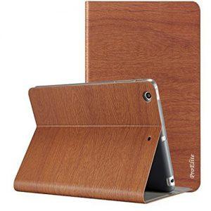 Apple Ipad Air Smart Leather Flip Case – White – Orange