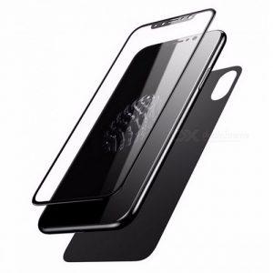 NOW Baseus 3D Iphone X Glass Protector – Black
