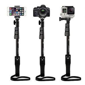 NOW Yunteng YT-1288 – Bluetooth Selfie Stick For Smartphones & Digital Cameras – Black