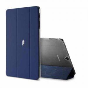 NOW Galaxy Tab S3 9.7 T 825 – Folio Flip Book Cover Case – Blue