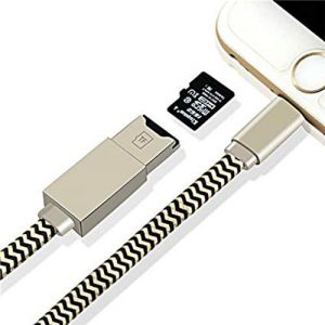 NOW IFLASH 2017 High Quality Hot Selling Charging Cable 4 In 1 Tf Memory Card Reader For I-Phone