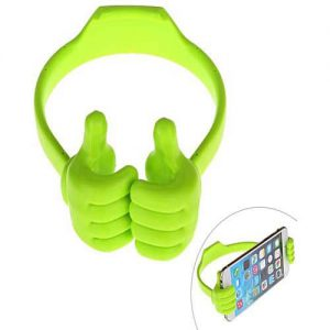 Universal OK Stand Thumb Design Mobile Stand / Holder – Green