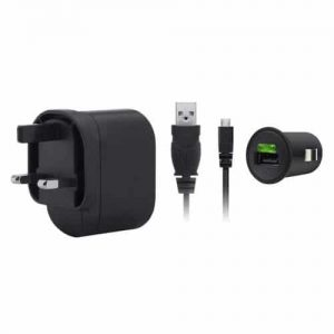 NOW BUY Rt Belkin Dual Port Car Charger – Black