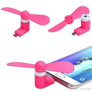 Rt Mini Fan For Smart Phones – Pink