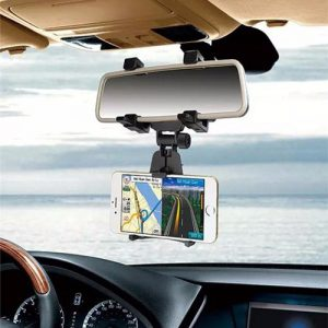 NOW IN BUY Universal Car Rear View Mirror Mount Mobile Holder
