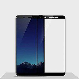 NOW V7 Glass Protector 5D Full Edges Cover – White