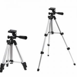NOW YOU BUY WT3110A – Portable Mobile Phone Tripod Stand – Silver