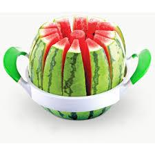 Full Stainless Steel Watermelon Cutter Melon Slicer