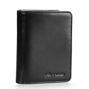 Cow Leather Multi Pocketed Book Style Wallet