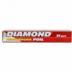 Diamond Aluminum Foil – 25 Sq Ft