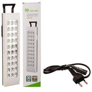 Led Rechargable Emergency Led Light – White – Led 716