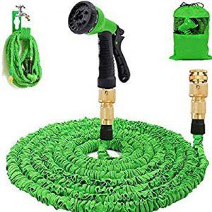 Magic Hose Pipe Spray Gun For Garden Car Wash – 50Ft – Green