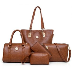 Luxury Shoulder bags with 2 purse Wallet  High Quality Fashion Ladies Bag