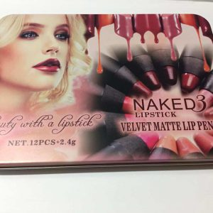 Naked 3 Lipstick kit