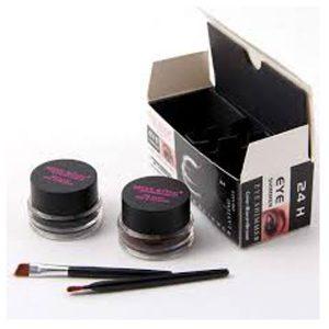 MISS ROSE gel eyeliner 2 color a set black and brown