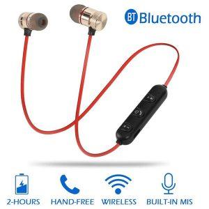 Gaming Headphones bluetooth wireless handsfree M5 Wireless Sport Bluetooth Handsfree Magnetic Bluetooth Wireless Stereo In-Ear Sports Handfree / Earphone With Mic Magnetic Handfree-FF1