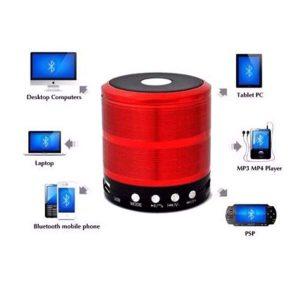 Mini Bluetooth Wireless Portable Speaker with LED Dancing Light & High Bass Sound-FA1856