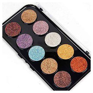 Miss Rose Makeup Palette 8 Color Glitter