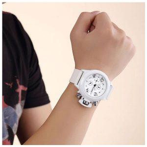 MEGIR 2002 Multifunction Quartz Wristwatch Chronograph Calendar Watch For Men