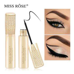 MISS ROSE Black Eyeliner gold