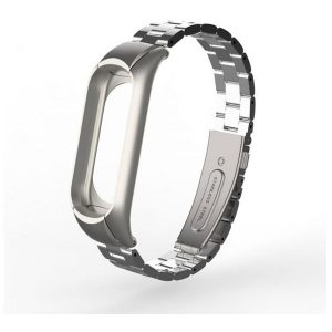 Stainless Steel Metal Strap For Xiaomi Mi Band 3 Screwless Bracelet