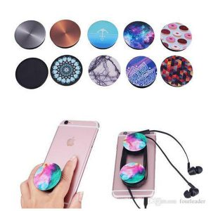 Pack of 2 Mobile Pop Socket – 2X Mobile Stand Grip Holders