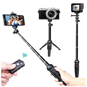 Bundle – Selfie Stick with Bluetooth Shutter – Fashion Mobile Accessories