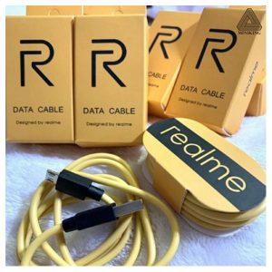 Realme Orange Micro USB Data Cable Original
