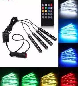 LED Car Interior Atmosphere Neon Lights