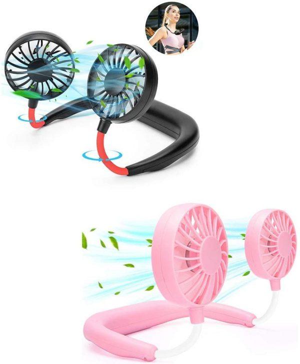 Portable Mini Fan USB Rechargeable 3 Speed Adjustable