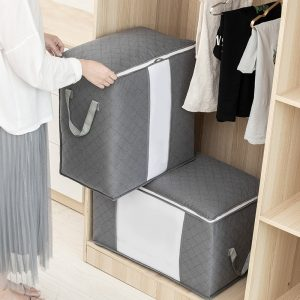 Organizer Collapsible Bag Clothes Sweater Closet Storage Box