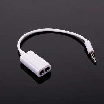 Most commonly used for audio/microphone connections.3.5 mm Dual Audio Line Headset Jack Earphone Splitter One In Two Couples Lovers Adapter For iPhone MP3 MP4 Portable Media Player3.5mm male to dual female earphones jack splitter adapter made from durable materials input: one 3.5mm stereo plug output: two 3.5mm stereo female jacks