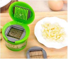 Portable Garlic Ginger Chopper Slicer Vegetable Cutter