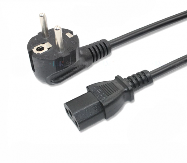 Power Cable Branded for Computer Laptop LCD PC Desktop Charger Monitor
