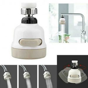 ABS Water-Saving Faucet Aerator Nozzle Shower Head Filter Sprayer