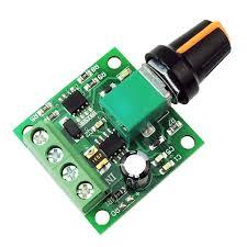 DC FanMotor Speed Controller Module 1.5V-35V 5A 90W Speed Regulator